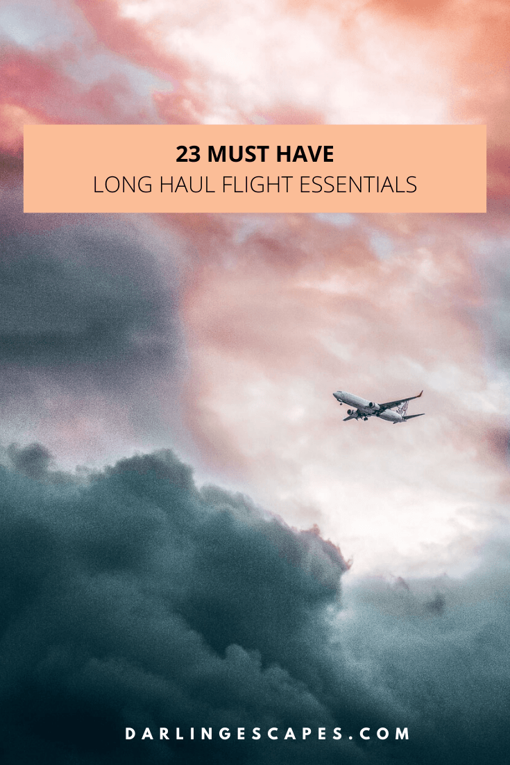 Heading on a long flight? We've pulled together our list of tried and tested long haul flight essentials to make your time in the air a comfortable one