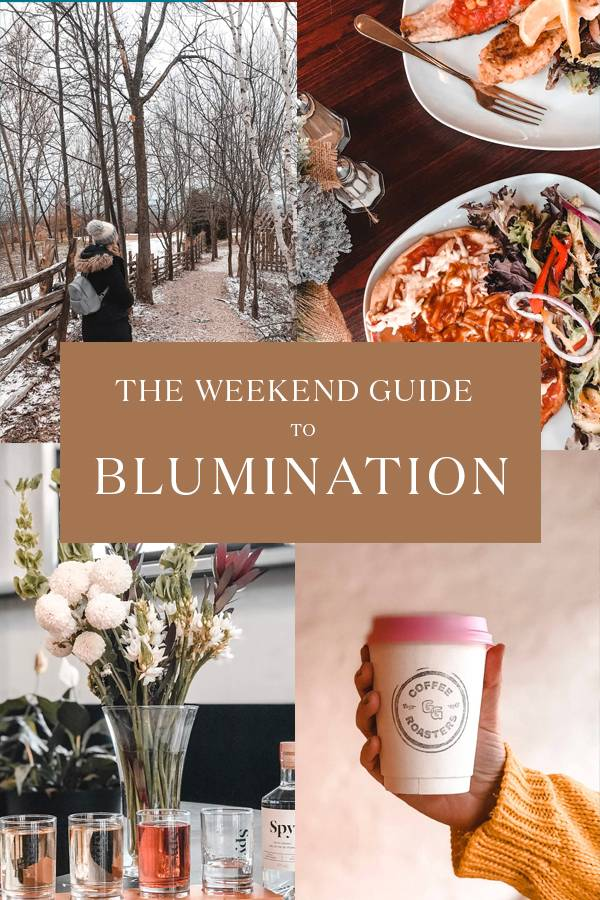 Planning a weekend getaway to Blumination and the Gray Country? If a perfect weekend getaway is what you're after, we've rounded up the ultimate list of things to do, where to eat, and where to stay in Blumination! #Canada