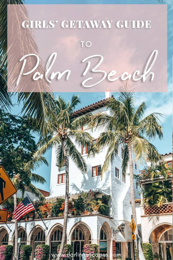 Planning a girls' getaway to Palm Beach, Florida? We've put together a Palm Beach travel guide for you with the best things to do, our favorite restaurants, and the best hotels in town! #Florida #VisitFlorida #PalmBeach