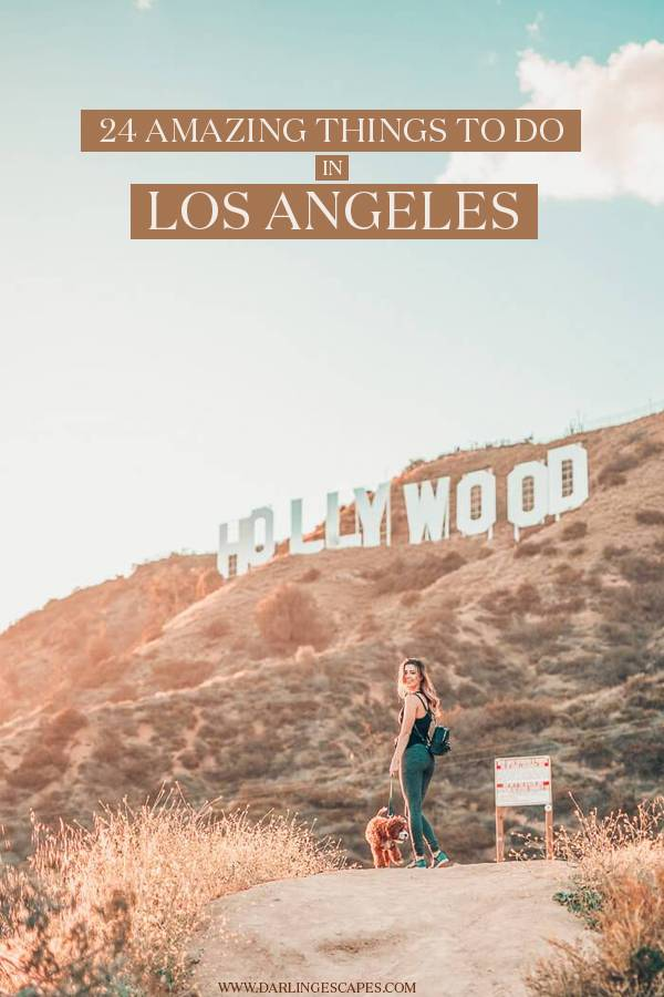 Planning a trip or getaway to Los Angeles? If you're wondering what to do in LA, we've rounded up the 24 coolest things to do in Los Angeles for every type of traveler! From top attractions to hidden gems and venues to indulge in its famous nightlife, here are the best things to do in Los Angeles! #LosAngeles #California