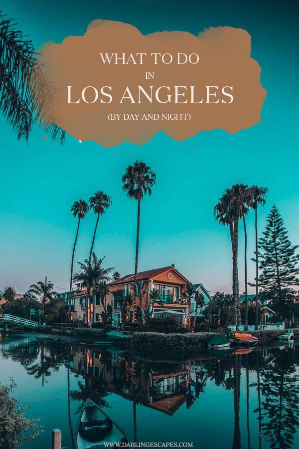 Planning a trip to Los Angeles and wondering what to do in the most exciting city in California? On this travel guide, we share our favorite things to do in LA by night and day! #LosAngeles #California