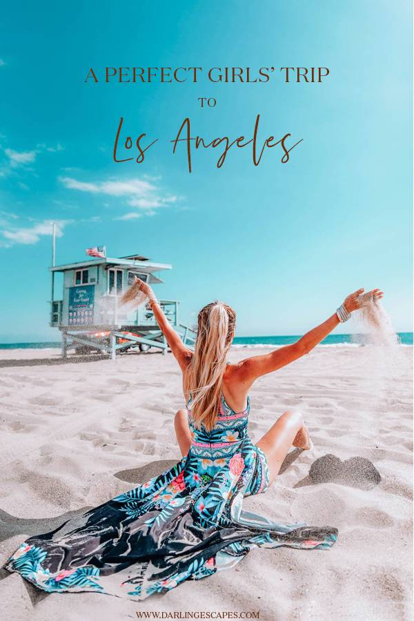 Wondering how to plan a girls trip to Los Angeles, California? On this travel guide to LA, we share the best things to do in Los Angeles by day and by night for the perfect weekend getaway or holiday in Los Angeles. #LosAngeles #California