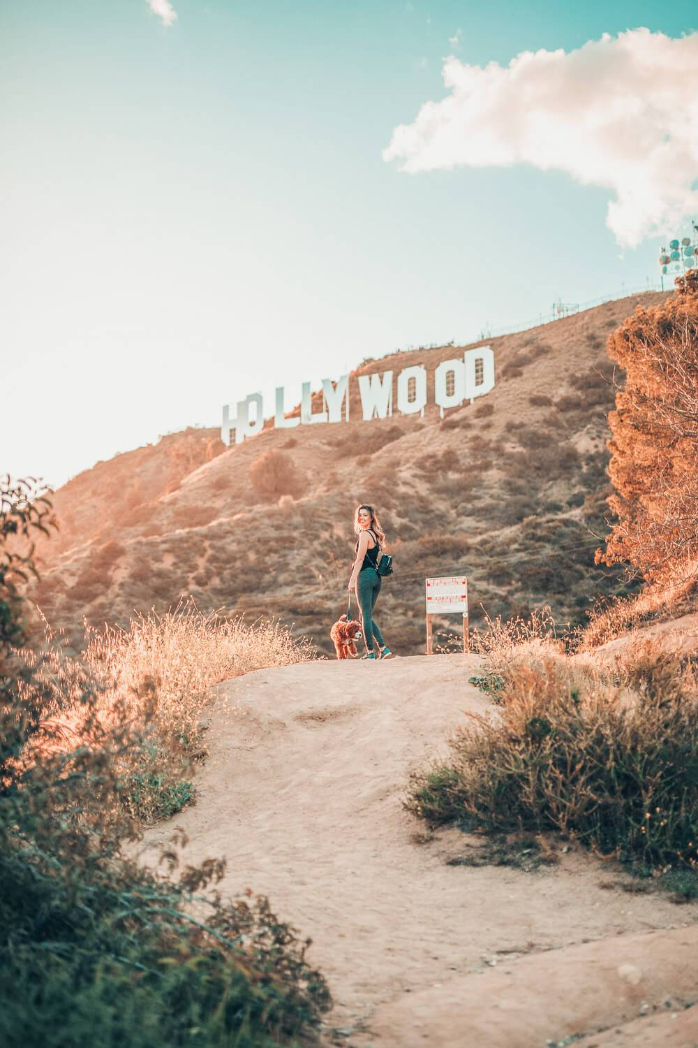 Hiking up to the Hollywood sign is one of the best things you can do in Los Angeles. In fact, it's one of the most fun things to do in LA at night, too.