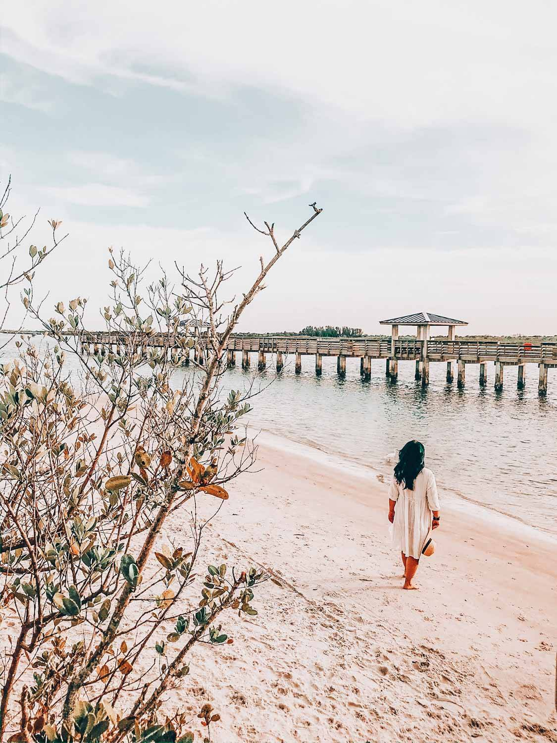 his guide to New Smyrna beach has everything you need to know about this charming little beach town in Florida. It includes things to do in New Smyrna beach, places to stay, and where to eat.