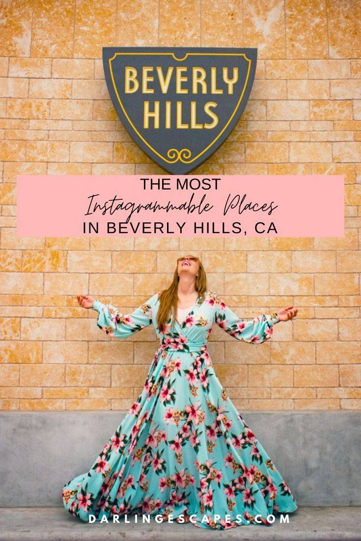 Looking for the best things to do in Beverly Hills, CA? Well, look no further! We have the top places to hit, including the most instagrammable places on in this lovely city! We've also included a few of the top things to do in Beverly Hills at night!