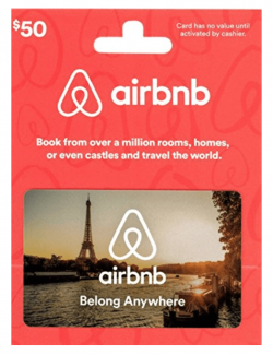Gift guide for luxury travel lovers including Rosetta Stone and Airbnb gift cards